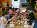 Typicky freediversky obed pred potapkou